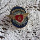 HARLEY DAVIDSON Pin LOVE RIDE GLENDALE #6 MDA  RARE Hat Lapel Coat