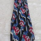 GRATEFUL DEAD TIE First Set Thunder Rose Neckware Blue Red White