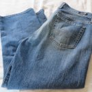 LUCKY BRAND JEANS CLASSIC RIDER CROP in ol sanur Size 10
