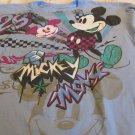 Disney Mickey Mouse TEE Blue Large 28 Celebration Shirt