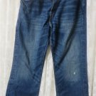 A & F ABERCROMBIE & FITCH JEANS 5 Pocket Heavy Ounce 836154 32 x 33.5""