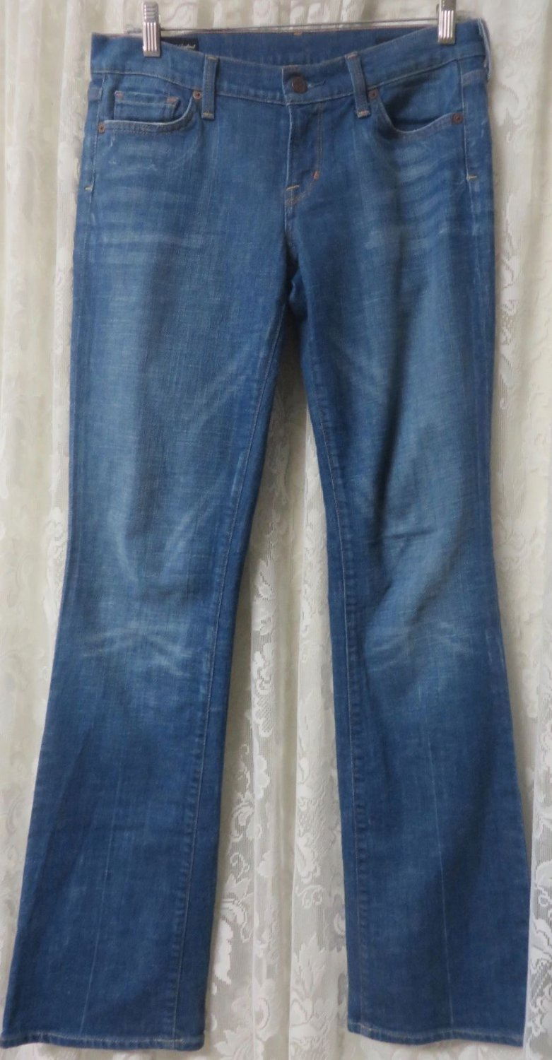 CITIZENS OF HUMANITY Jeans KELLY #01  Stretch LIGHT Low Waist BOOT 29 x 34