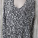 HOLLISTER SWEATER HOODIE Gray White S/XS NWT Comfy Soft