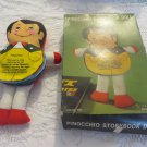J.S.N.Y.  Cloth Pinocchio Flip Style Cloth Storybook Doll VINTAGE Boxed