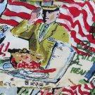 PARA GRAFF VINTAGE SHIRT America Beautiful Nostalgia XL Historical Bowl Novelty