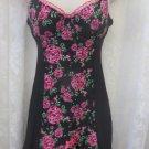 SEXY LITTLE THINGS Victoria Secrets Black Floral Boudoir Bustier 36C
