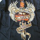 DRAGONFLY SHIRT N.SIXX WINGED DAGGER NSPG11 Rare  NEW LARGE