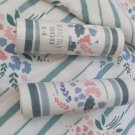 VINTAGE POSIE BOUQUET By Waverly Fabric and Matching Border Greens Floral Stripe