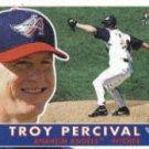 2001 Fleer Tradition #345 Troy Percival