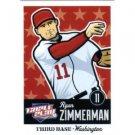 2012 Panini Triple Play #89 Ryan Zimmerman