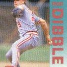 1992 Fleer #404 Rob Dibble