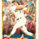 1990 Topps Ames All-Stars #29 Jose Canseco