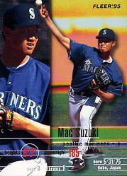 1995 Fleer #278 Mac Suzuki