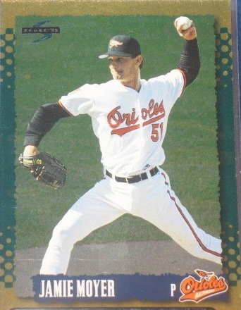 1995 Score Gold Rush #114 Jamie Moyer