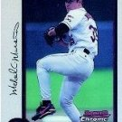 1998 Bowman Chrome #9 Mike Mussina