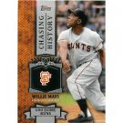 2013 Topps Chasing History #CH47 Willie Mays
