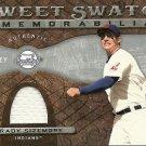 2009 Upper Deck Sweet Spot Swatches #GS Grady Sizemore