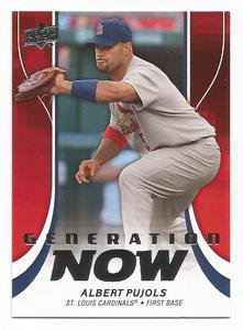 2009 Upper Deck Generation Now #GN4 Albert Pujols