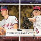 2012 Topps Timeless Talents #TT14 Nolan Ryan/Jered Weaver