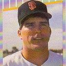 1989 Fleer Update #127 Jeff Brantley UER RC
