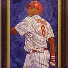 2008 Topps Dick Perez #WMDP3 Ryan Howard