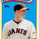 2013 Topps Archives 1989 All-Stars Retail #MC Matt Cain