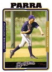 2005 Topps Update #303 Manny Parra FY RC