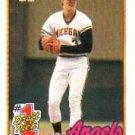 1989 Topps 573 Jim Abbott FDP RC
