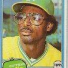 1981 Topps #364 Mike Davis RC