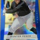 2013 Panini Prizm Prizms Blue #88 Hunter Pence