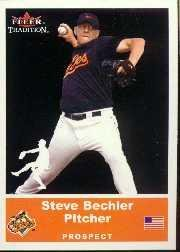 2002 Fleer Tradition Update #U80 Steve Bechler SP RC
