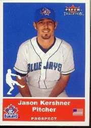 2002 Fleer Tradition Update #U75 Jason Kershner SP RC