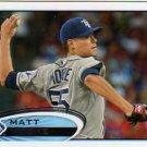 2012 Topps #129 Matt Moore RC
