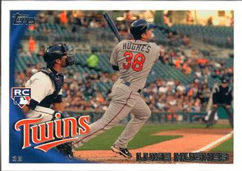 2010 Topps Update #US109 Luke Hughes (RC)