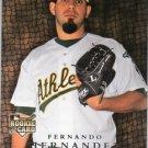 2008 Upper Deck #711 Fernando Hernandez RC