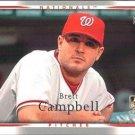 2007 Upper Deck 50 Brett Campbell RC