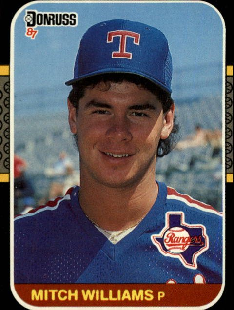 1987 Donruss #347 Mitch Williams RC
