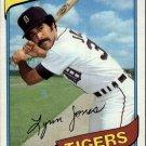 1980 Topps 123 Lynn Jones RC
