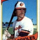 1980 Topps 568 Gary Roenicke RC