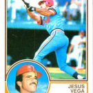 1983 Topps 308 Jesus Vega RC