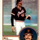 1983 Topps 518 Bill Laskey RC