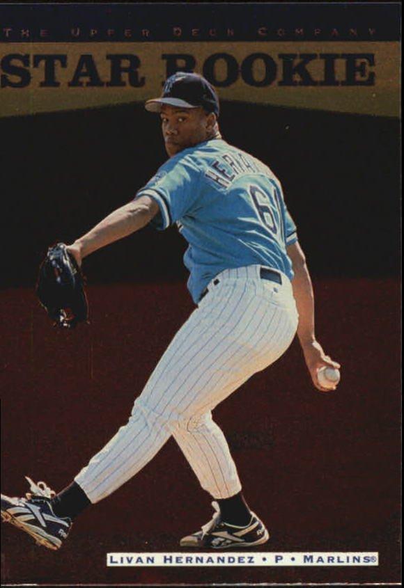 1996 Upper Deck 244 Livan Hernandez RC