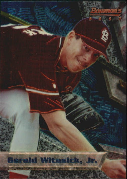 1994 Bowman's Best B87 Jay Witasick RC