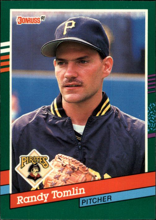 1991 Donruss 725 Randy Tomlin RC