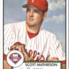 2006 Topps 52 179 Scott Mathieson (RC)