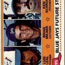 1981 Topps 577 Luis Leal RC/Brian Milner RC/Ken Schrom RC