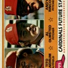 1981 Topps 244 Tito Landrum RC/Al Olmsted RC/Andy Rincon RC