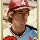 1981 Topps 366 Mike Ramsey RC