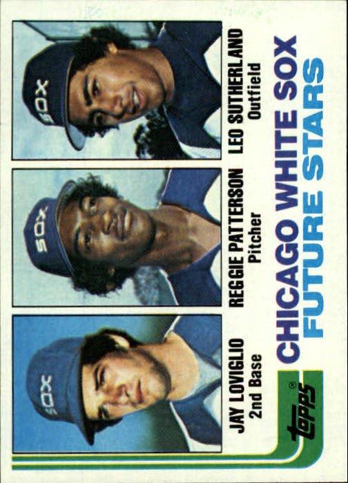 1982 Topps 599 Jay Loviglio/Reggie Patterson RC/Leo Sutherland