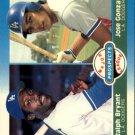 1987 Fleer 649 J.Gonzalez/R.Bryant RC